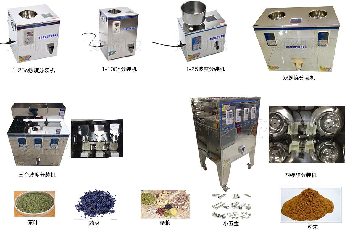 自动颗粒分装机工作流程图片