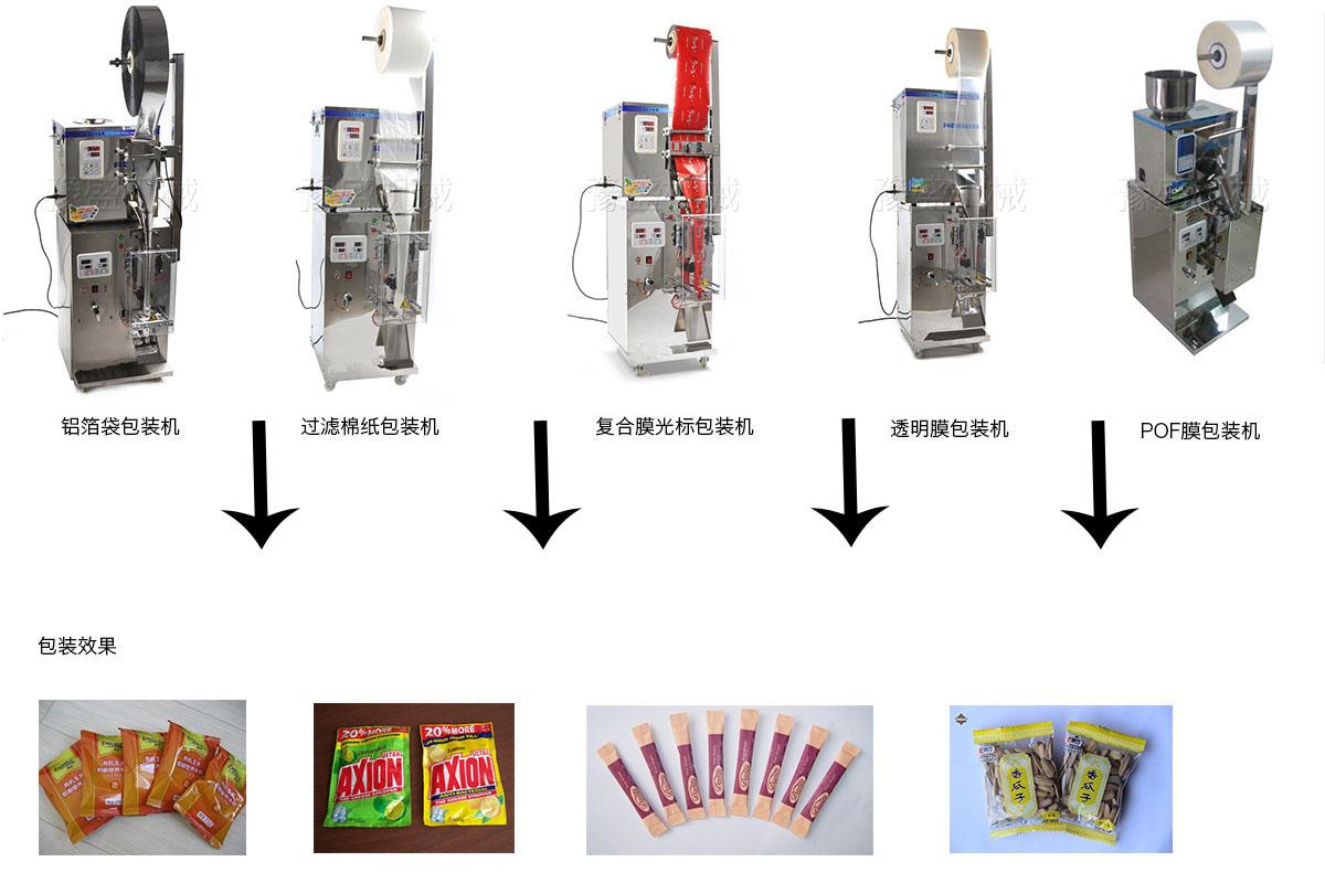 全自动茶叶分装机工作原理图片